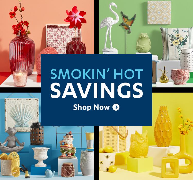 Smokin Hot Savings Landing Page
