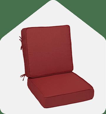Hinged and Deep Seat Cushions