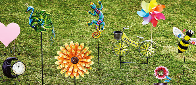 Outdoor Decor For Every Budget At Home, Outdoor Figures For The Garden