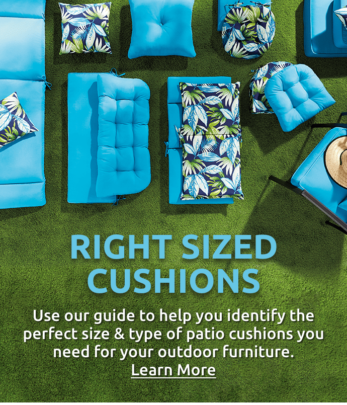 Patio Pillows For Every Budget At Home, Wicker Patio Cushions Clearance