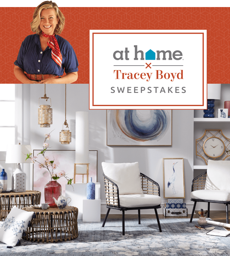 At Home. Tracey Boyd Sweepstakes