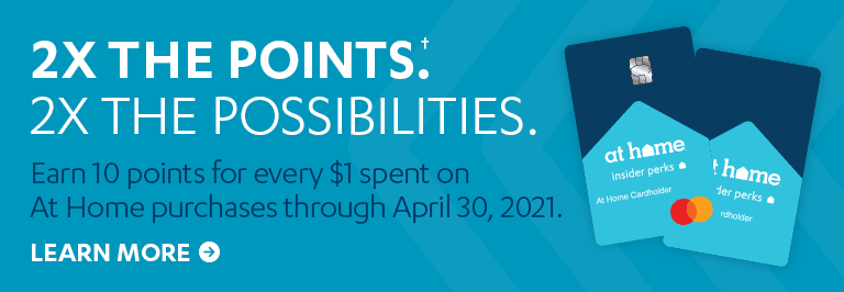 Double the Points. Learn More.