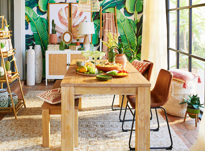 Shop Tulum Farmhouse Dining Room