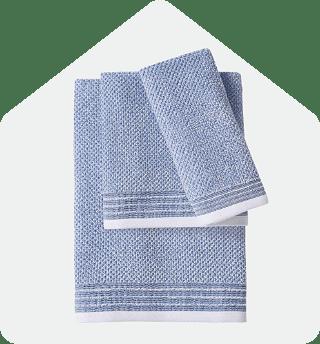 Peaceful Pleat Bath Towel