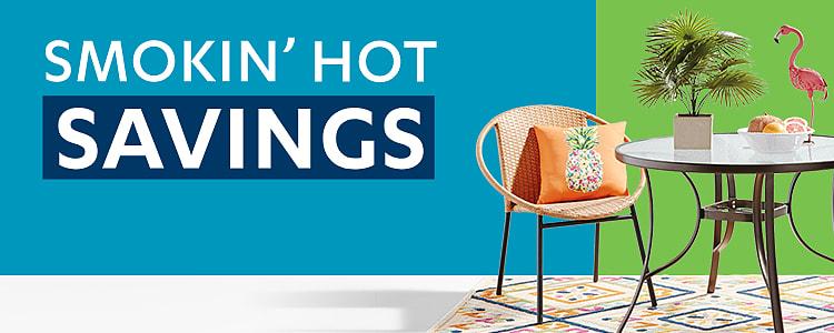 2021 Smokin' Hot Savings Outdoor Hero Banner