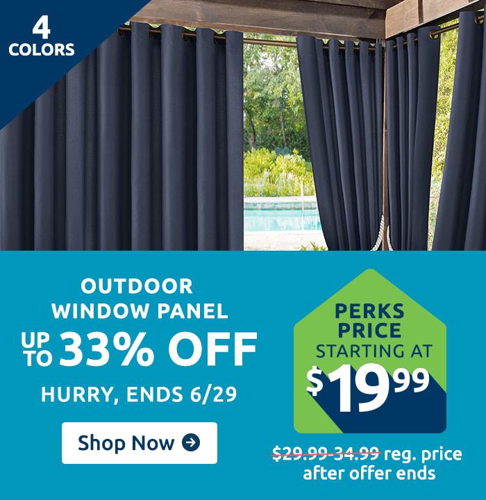 Smokin Hot Savings FF - Outdoor Window Panel