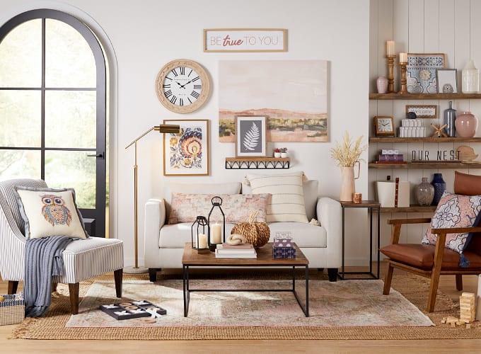 Shop Pasadena Farmhouse Living Room
