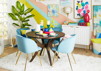 Uptown Girl Dining Room