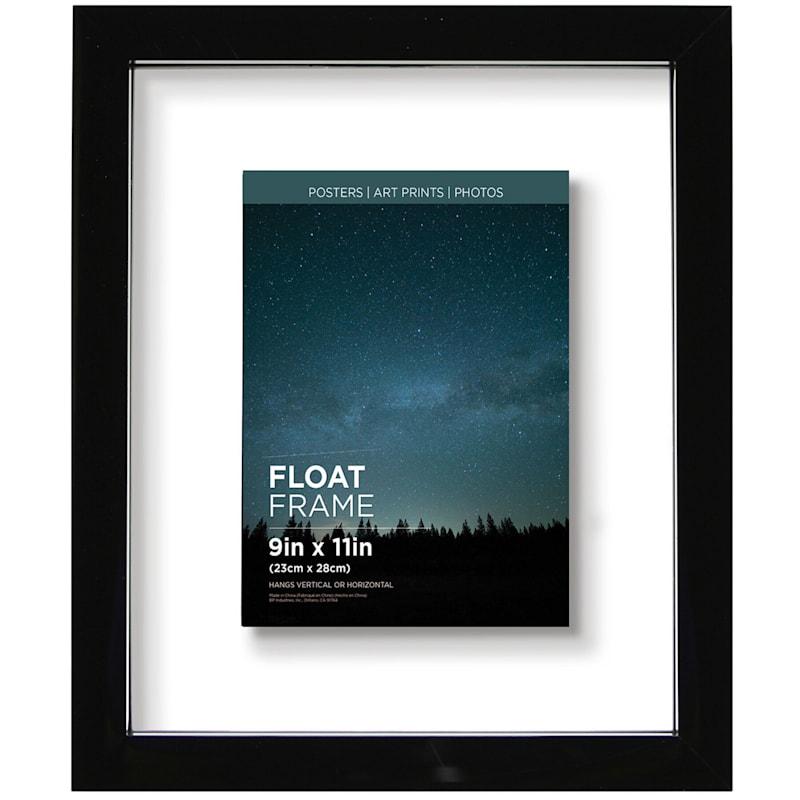 9X11 Black Float Frame