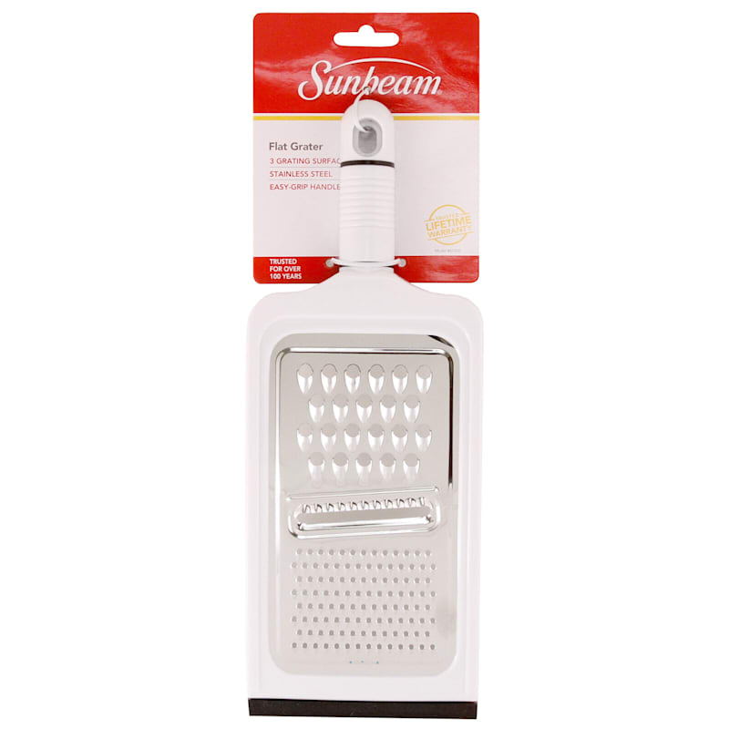 Stainless Steel Combo Flat Grater