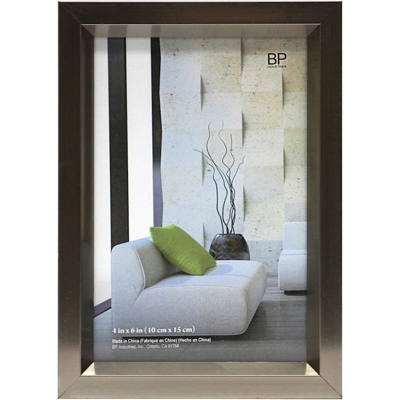 4X6 Pewter Tabletop Frame