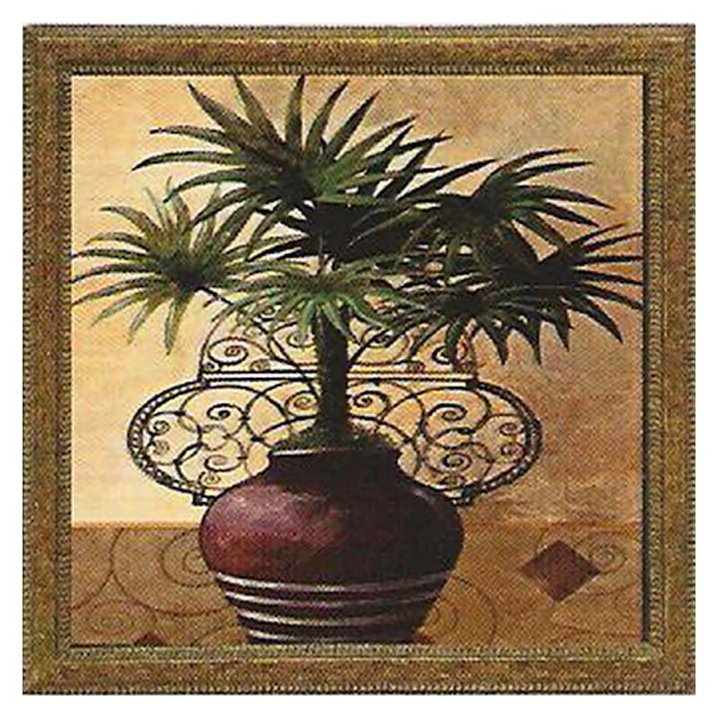 12X12 Copper Art Palm