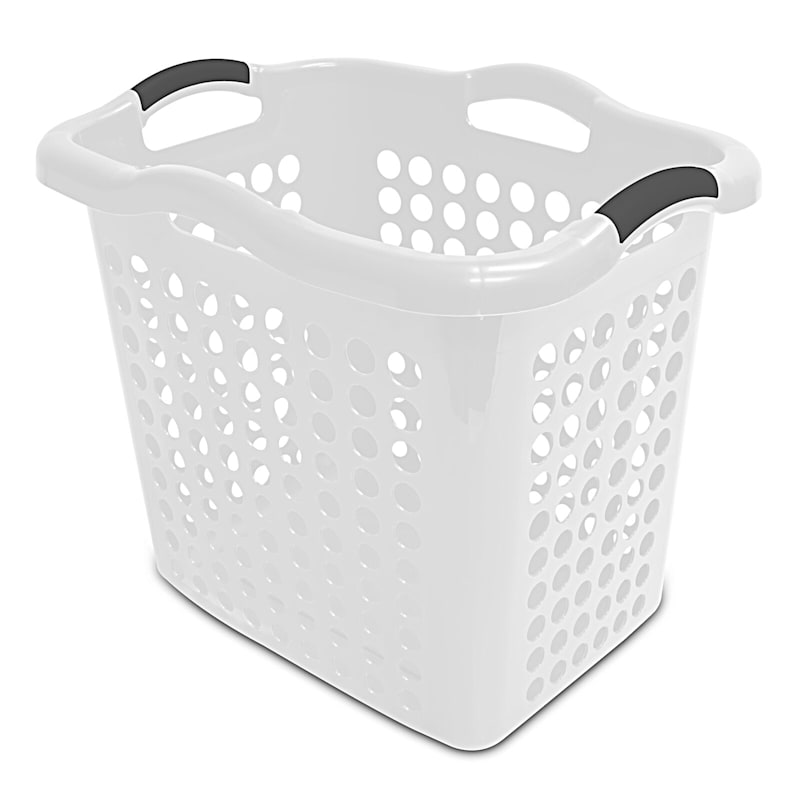 2 Bushel Laundry Basket - White