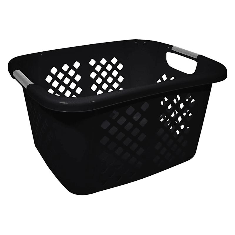 1.5 Bushel Laundry Basket - Black