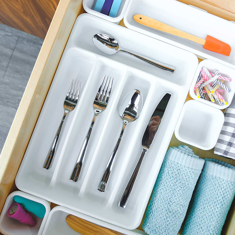 Cutlery Tray White