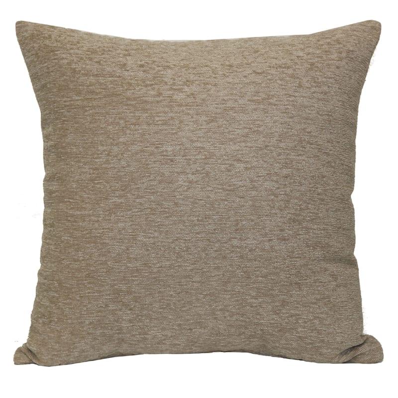 Crown Linen Chenille Pillow 17X17