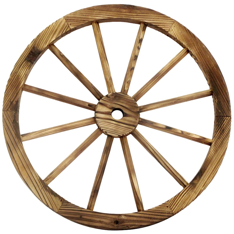 "Wagon Wheel Decor, 24"""