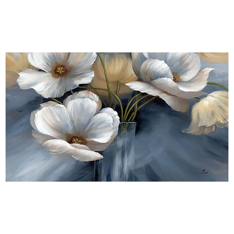 60X36 Floral Canvas Art