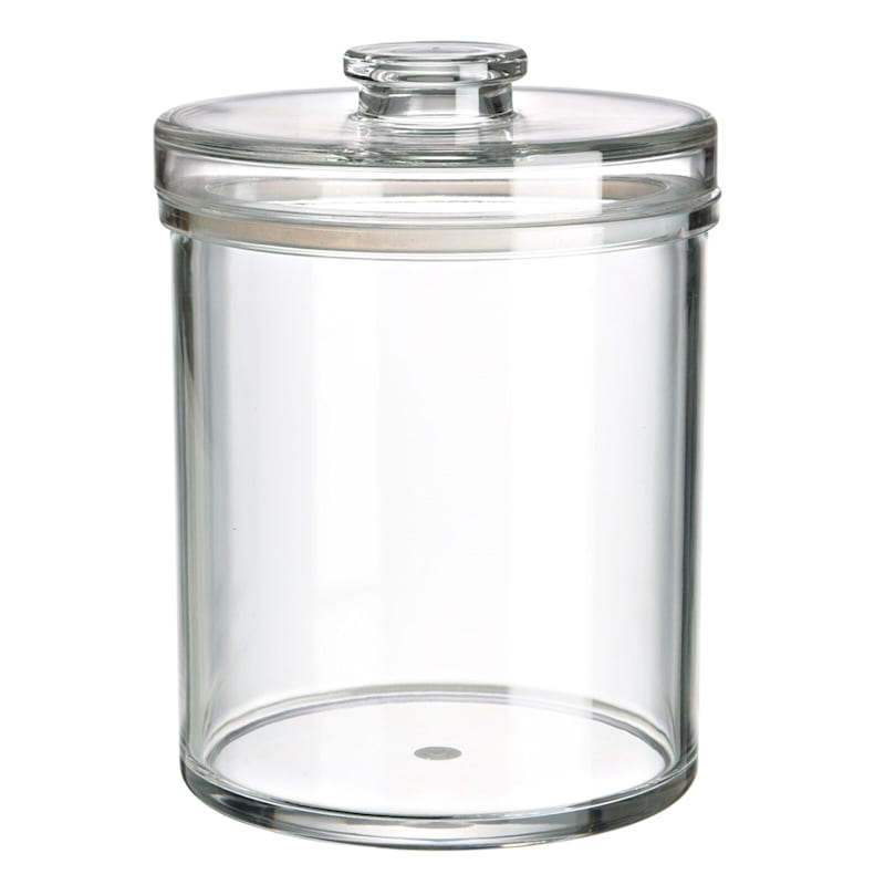 Metro Large Clear Acrylic Canister/Silicon Seal Bpa Free