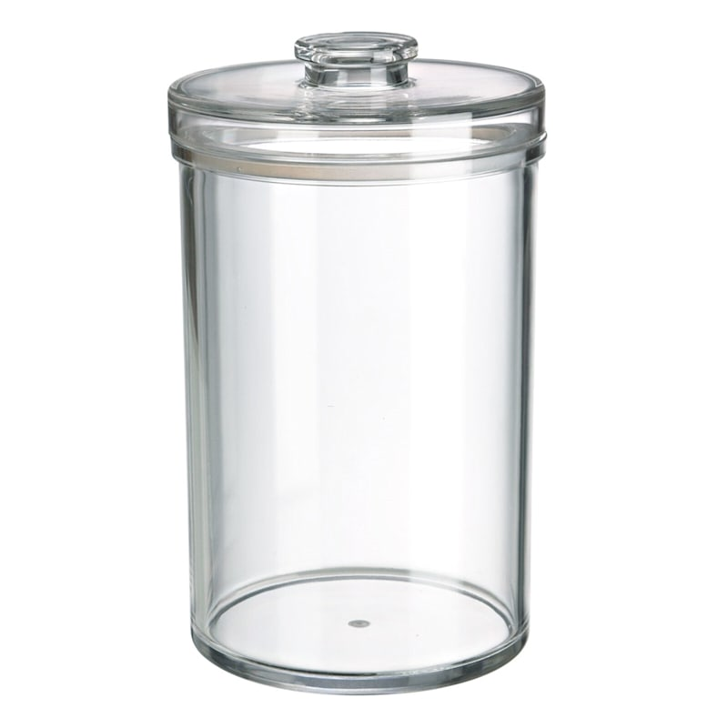 Metro Extra Large Clear Acrylic Canister/Silicon Seal Bpa Free