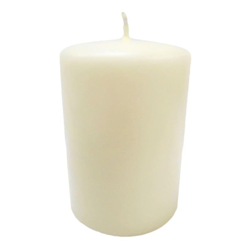 2.8X4 Overdip Pillar Candle Ivory