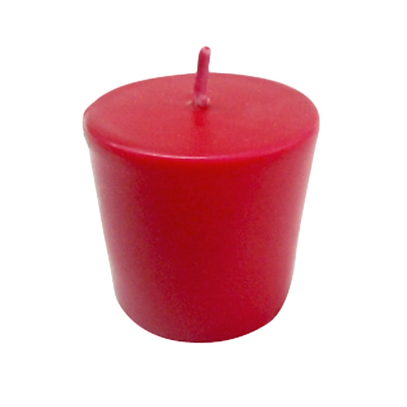 4-Pack Overdip Votive Candle Red