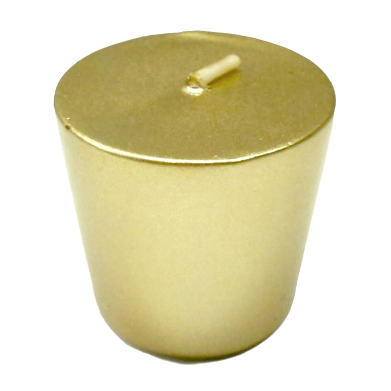 Gold Metallic Votive (Set of 4)