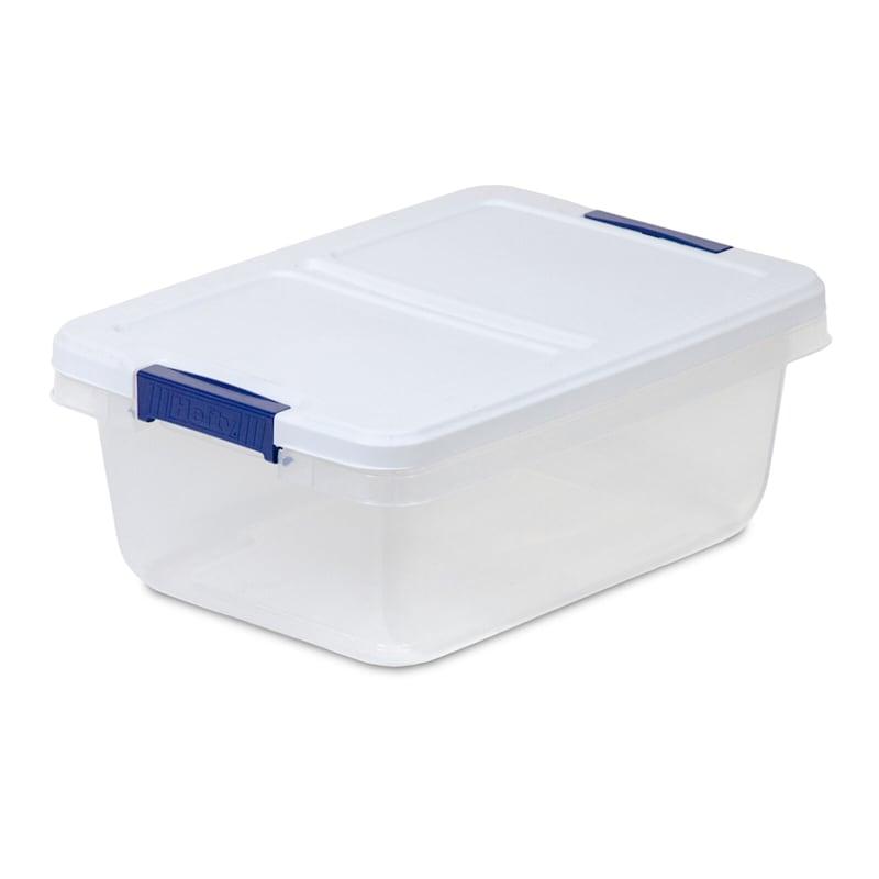 Hefty Plastic Storage Container