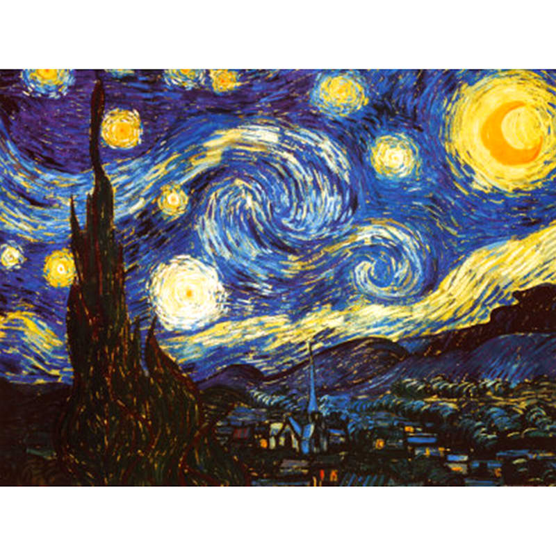 24X36 Starry Night Canvas