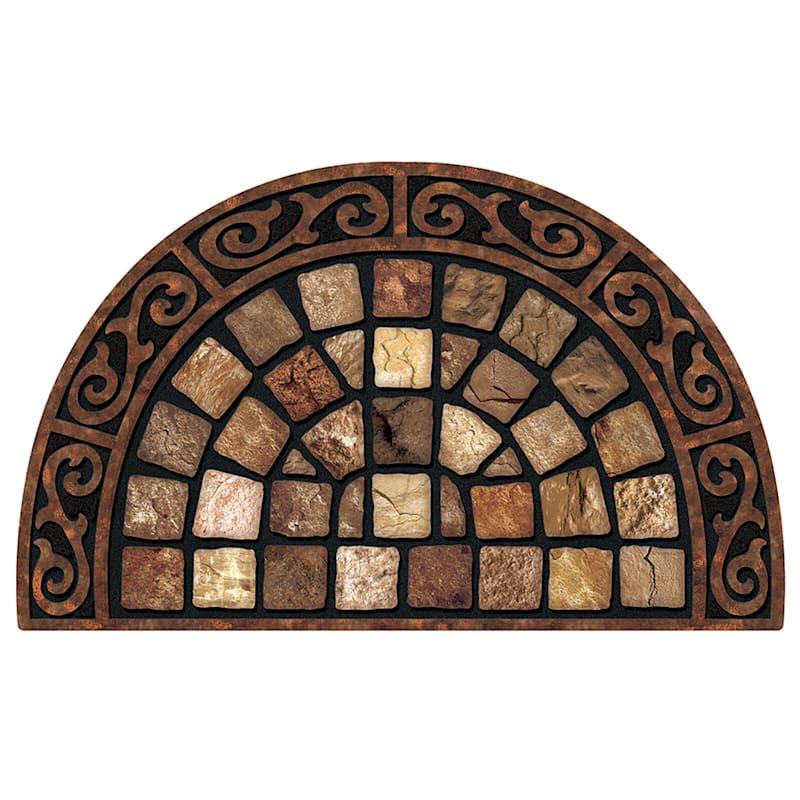 Roman Roads Slice Doormat 22 X 36-in