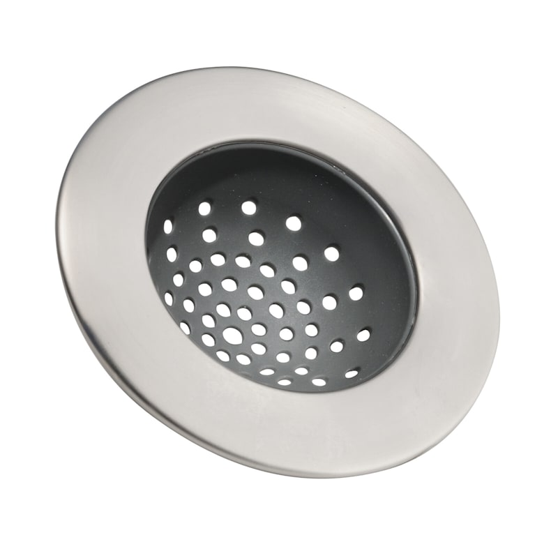 InterDesign Forma Sink Strainer, Brushed Nickel