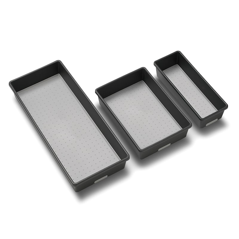 3-Piece Bin Pack Granite