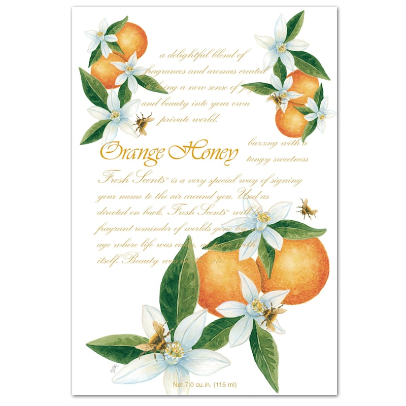 Orange Honey Sachet (Set of 3)