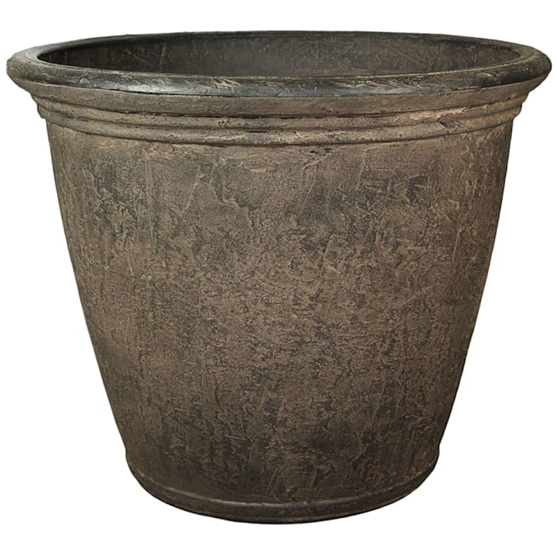 Kiri 24in. Decorative Planter Sable