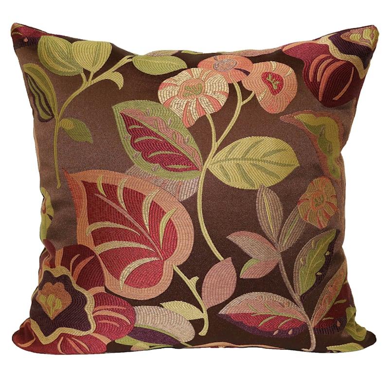 Tenille Floral Jacquard Pillow 18X18
