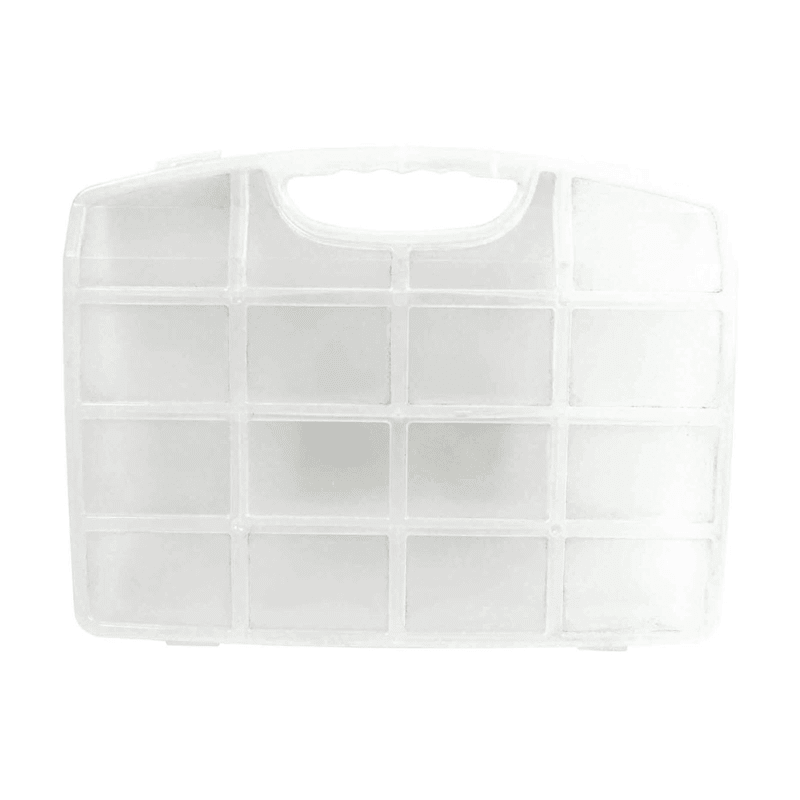 9 Section Plastic Storage