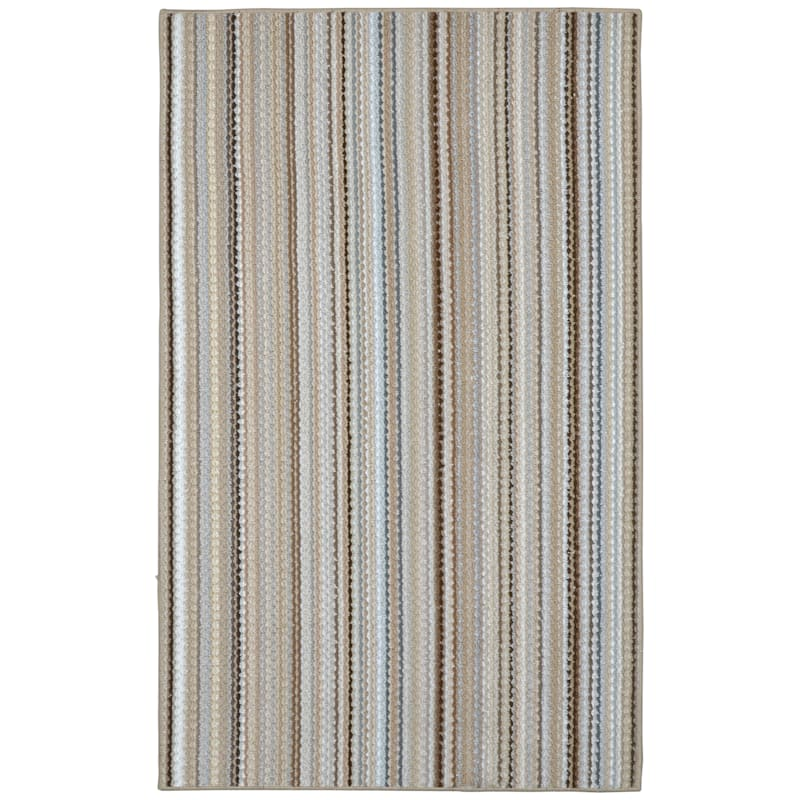(D80) Carnival Area Rug Earth Tone, 8x10