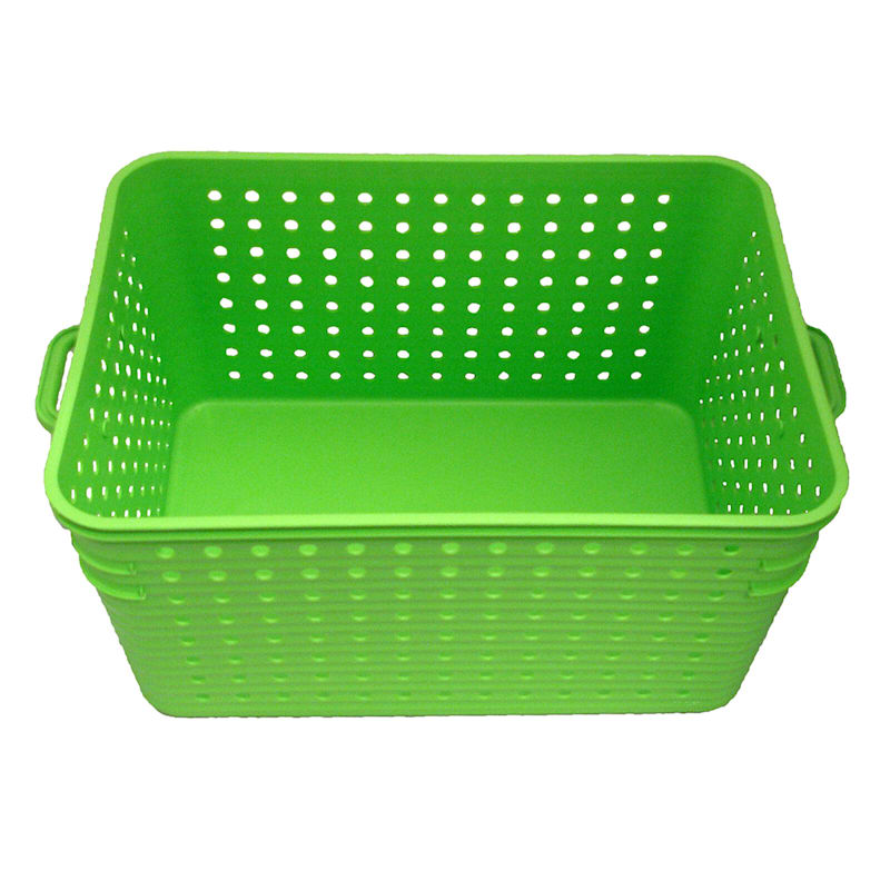 Lime Green Basket