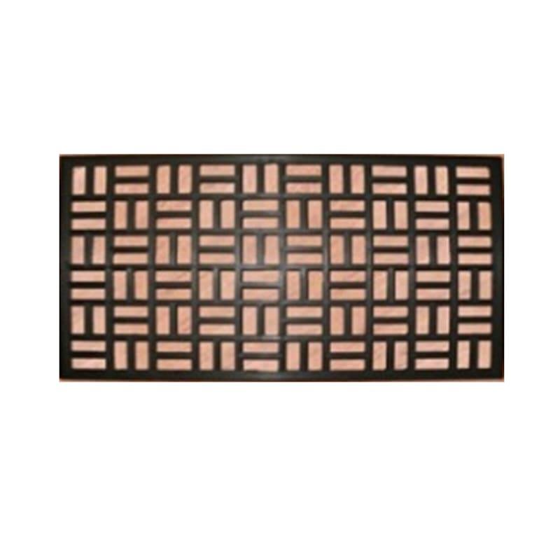 Rectangle Metal Works Doormat 18 X 30-in