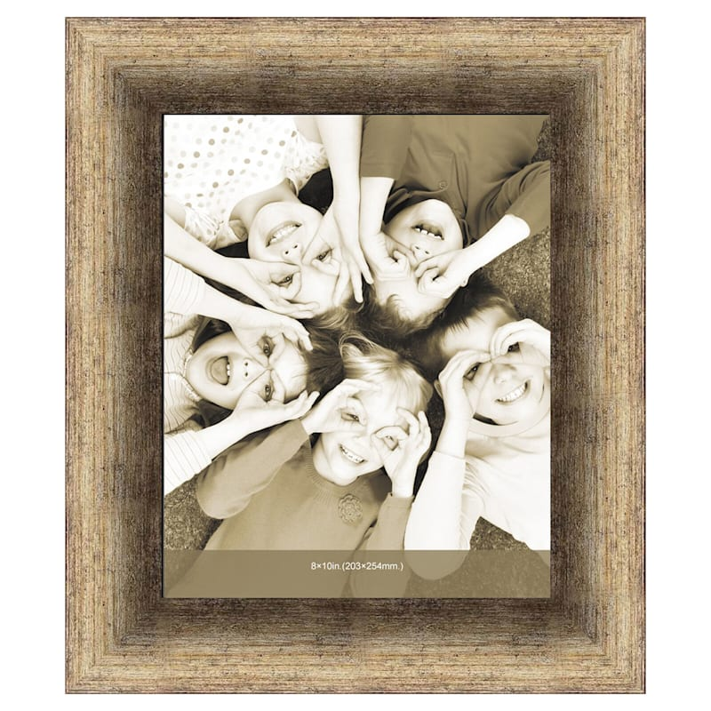 8X10 Champagne Scoop Poster Frame