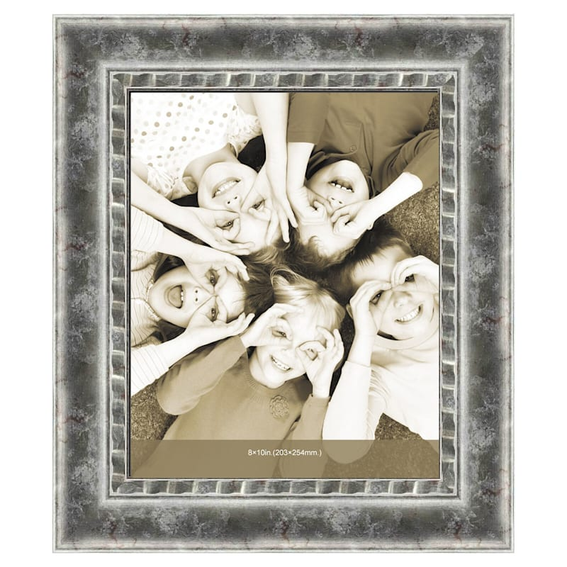 8X10 Pewter Silver Poster Frame