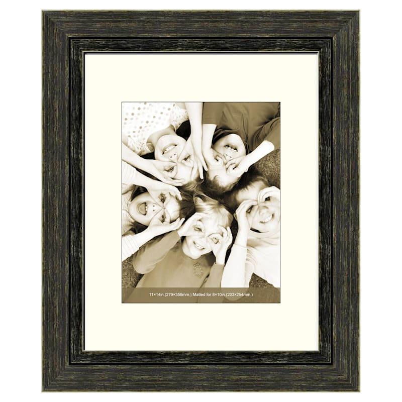 11X14 Distressed Black Frame