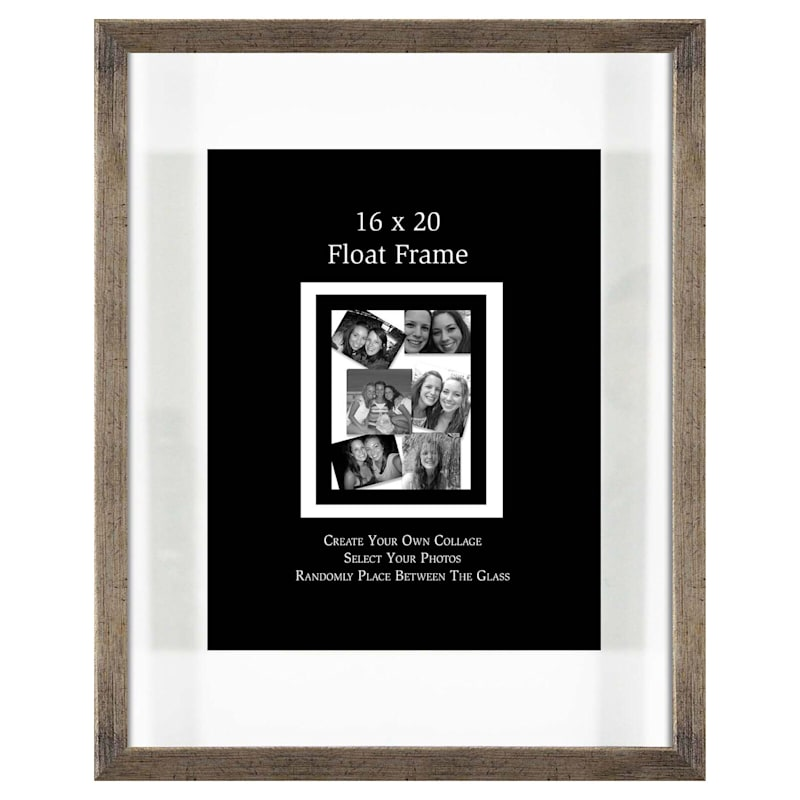 16X20 Champagne Float Wall Photo Frame