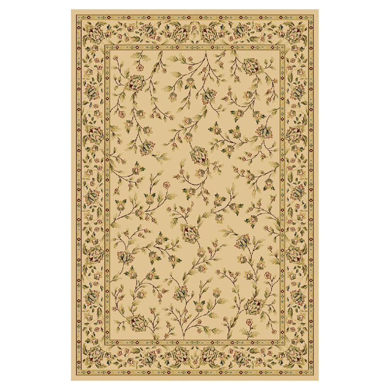 (D33 ) Kendall Ivory Woven Area Rug, 10x12