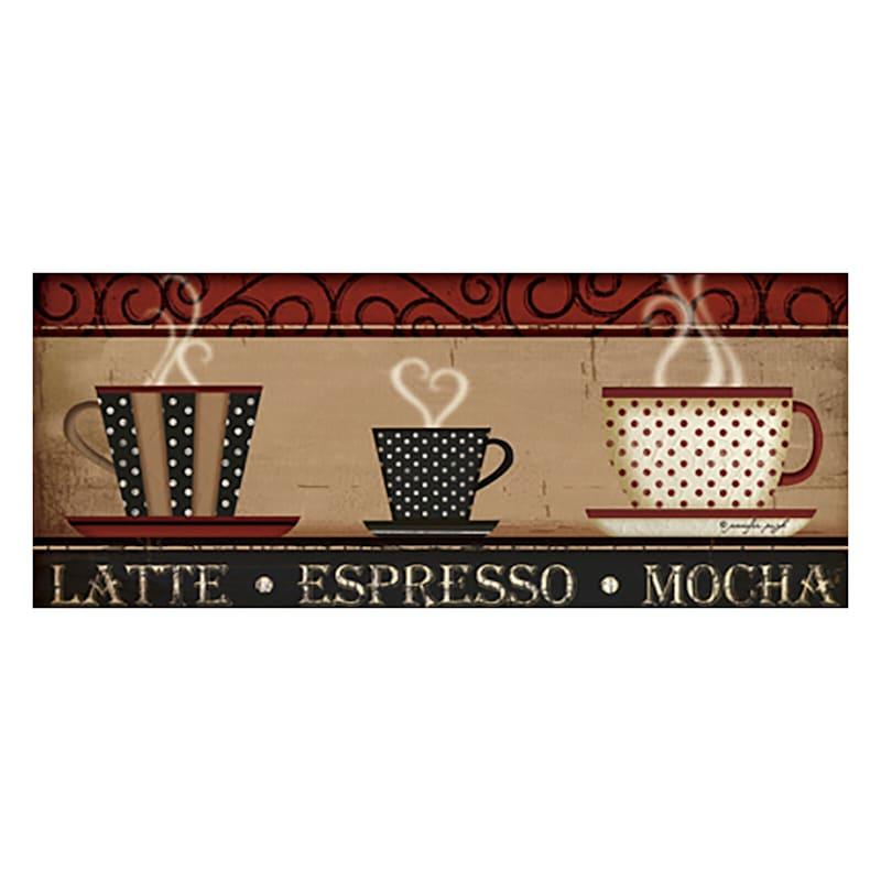 12 X 36-in Latte Mocha Café Studio Art