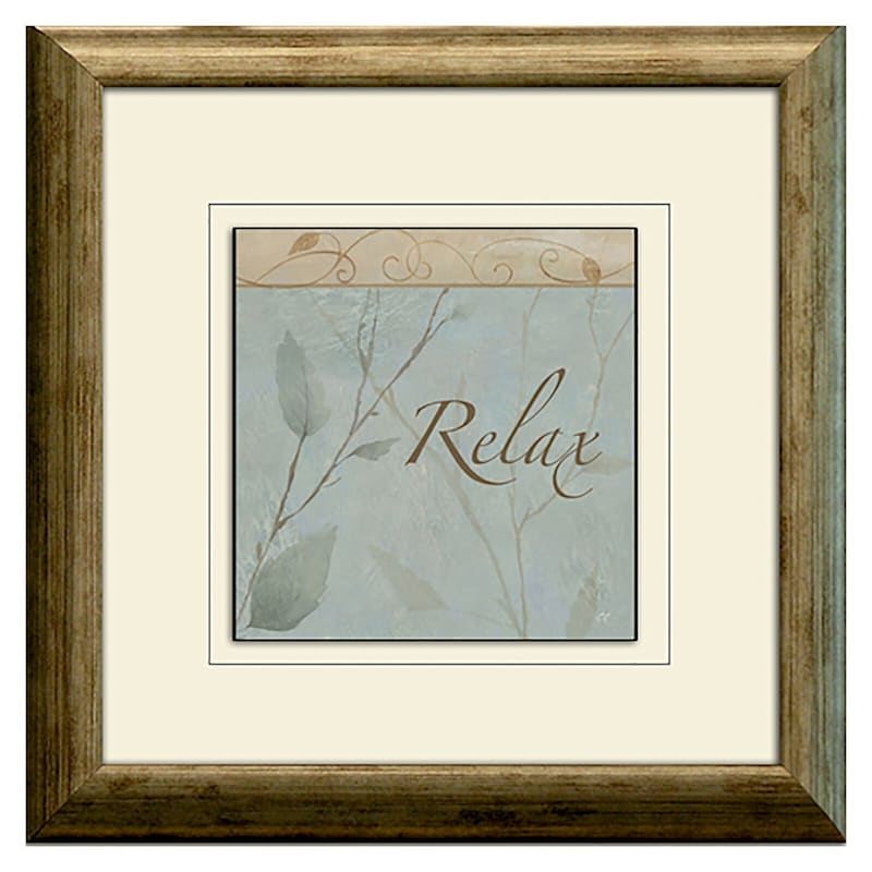 10 X 10-in Rest and Relax Accent Art- 3 Pack