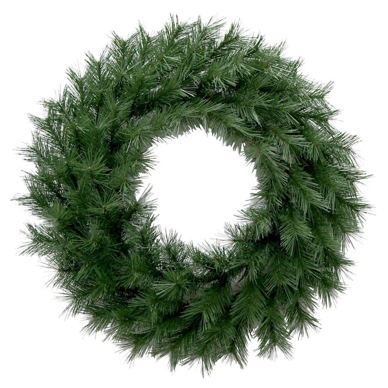 """Long-Needle Wreath, 30"""""""