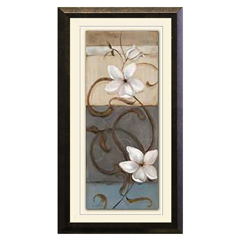 10X16 2-Pack Floral Under Glass Art