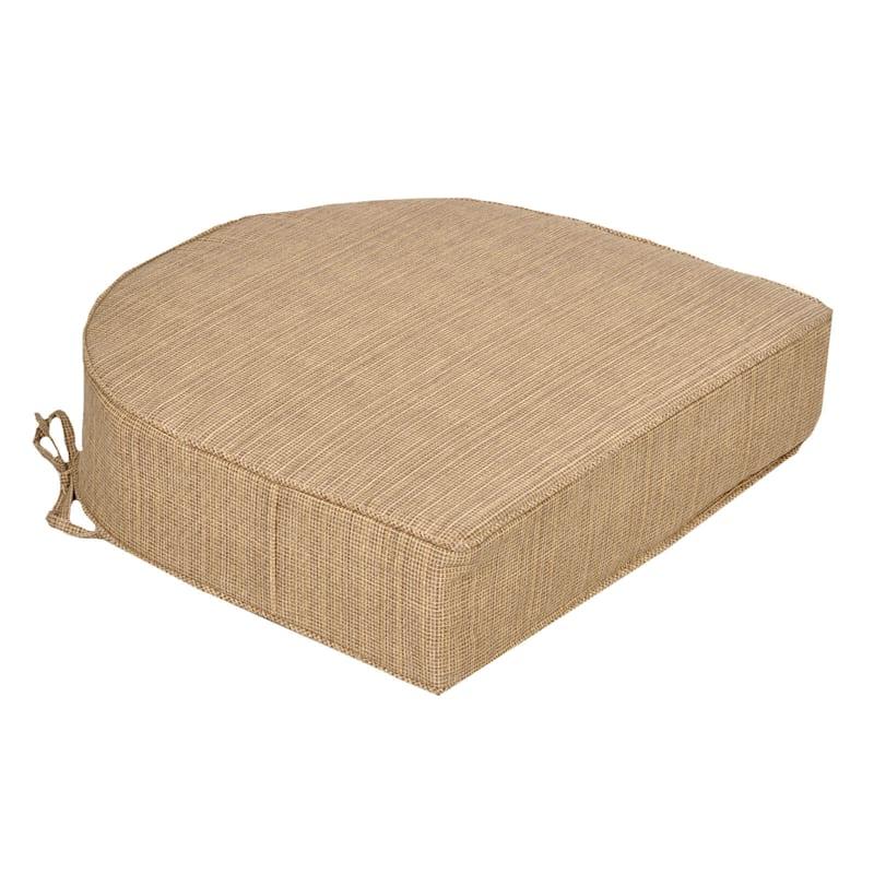Tallon Birch Outdoor Curve Back Seat Cushion