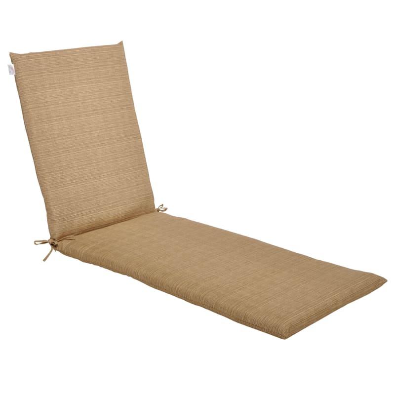 Tallon Birch Outdoor Chaise Lounge Basic Cushion